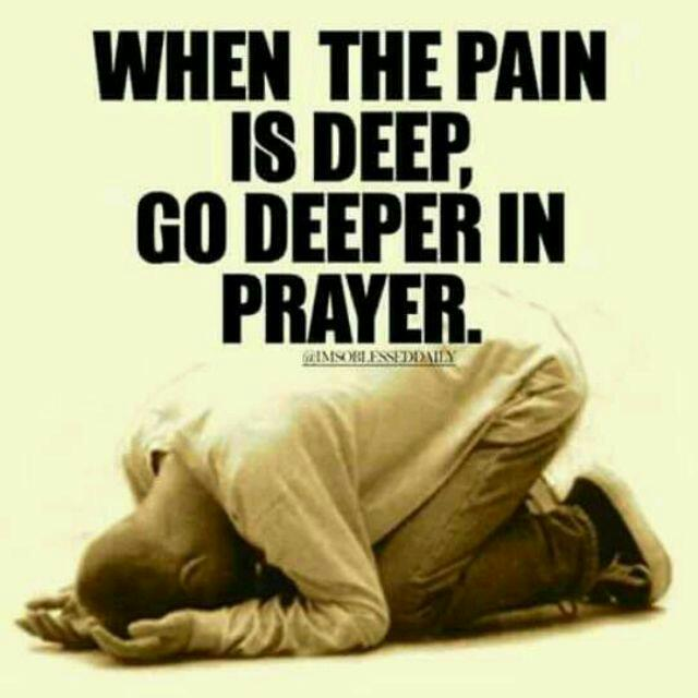 Prayers painful sex