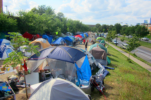 My journey through Tent City